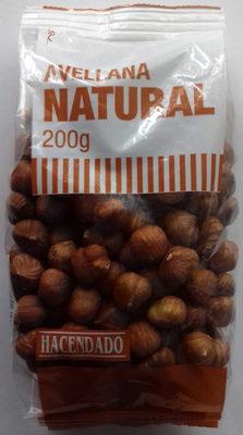 Avellana natural - Producte