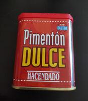 Pimentón Dulce (sweet Paprika) - Produit - es