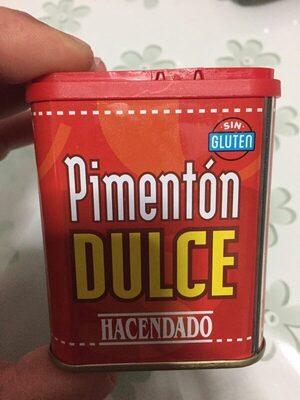 Pimentón Dulce