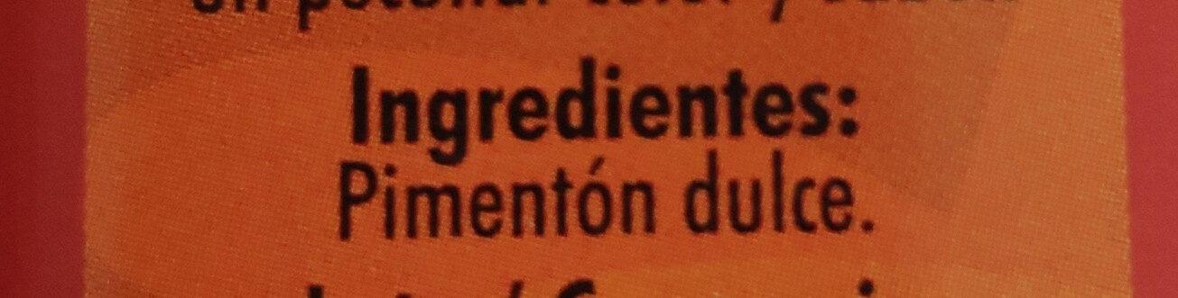 Pimentón Dulce (sweet Paprika) - Ingrédients - es