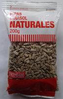 Pipas girasol naturales - Producte