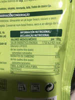 Mixbeans - Nutrition facts