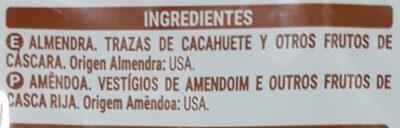 Almendra natural - Ingrédients - es