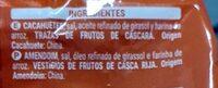 Cacahuete frito - Ingredientes - es