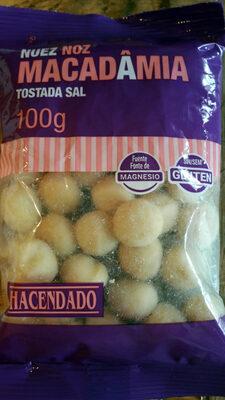 Nuez de macadamia tostada con sal - Product - es