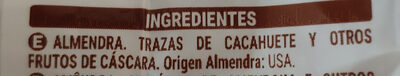 Almendra natural - Ingredientes - es