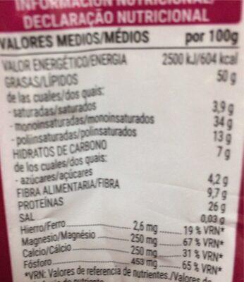 Almendra Molida - Informations nutritionnelles - es