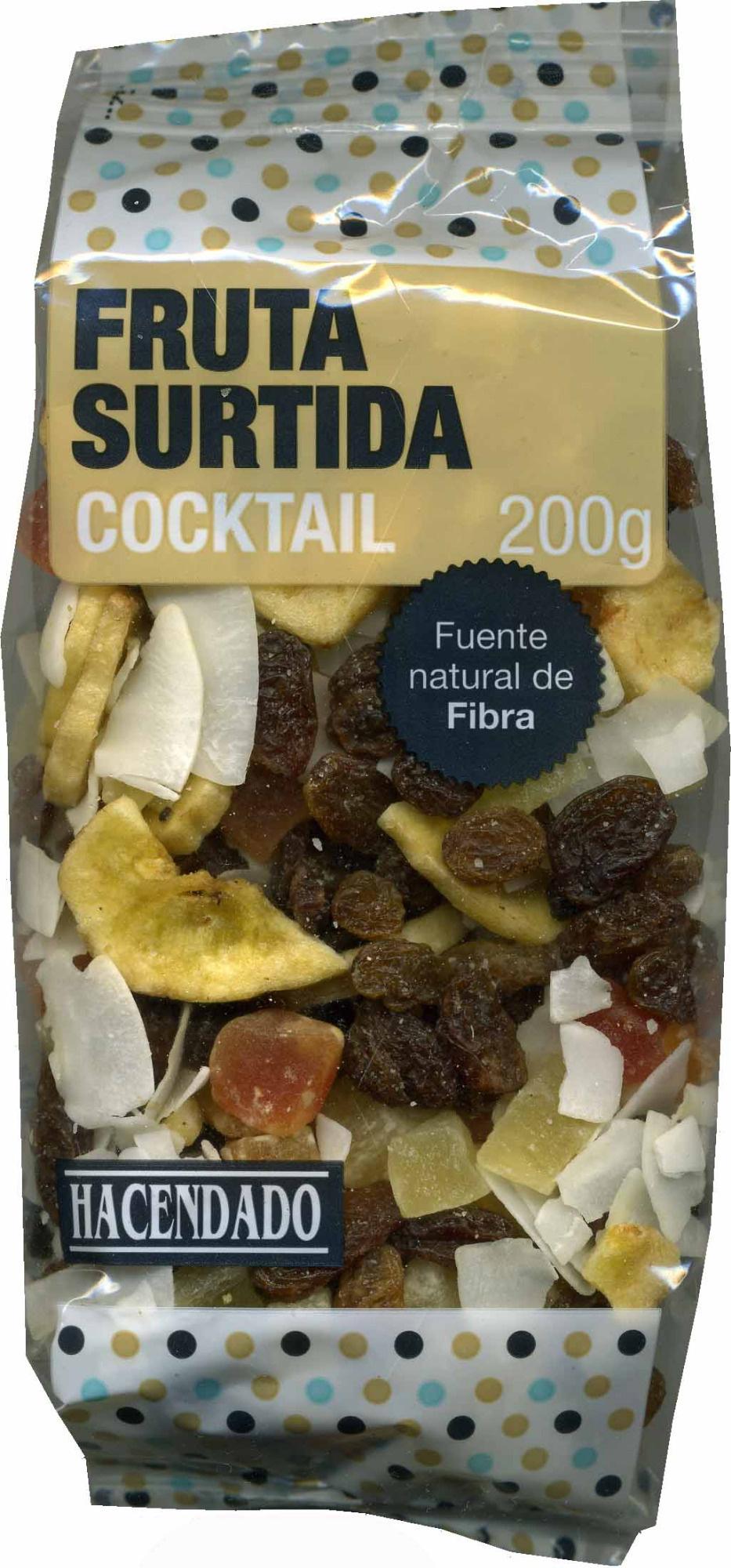 Fruta surtida deshidratada - Producte