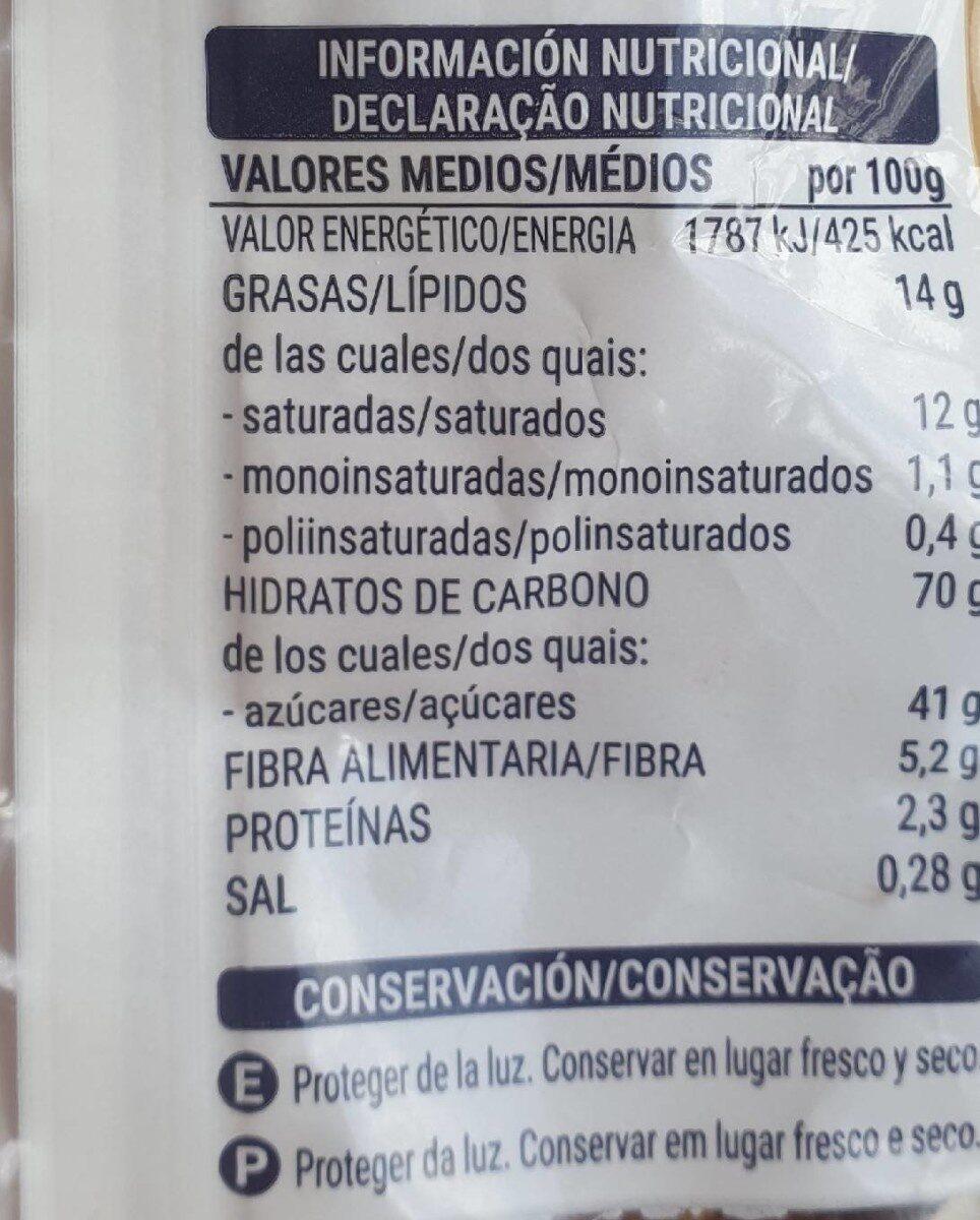 Cocktail de fruta - Informations nutritionnelles - es