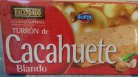 Turrón de cacahuete blando - Producto - es