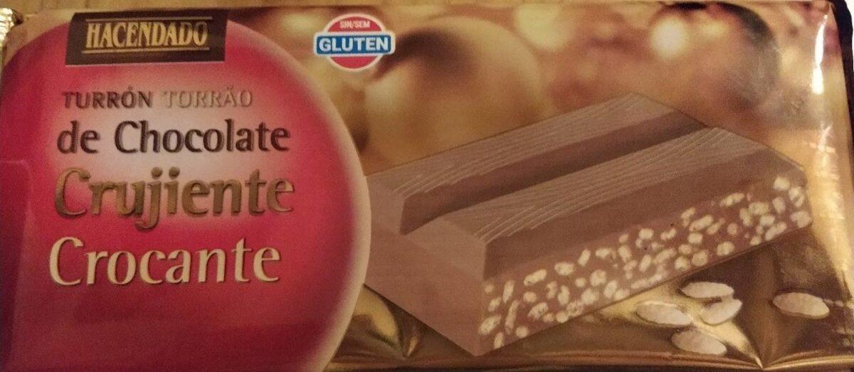 Turrón chocolate crujiente - Product
