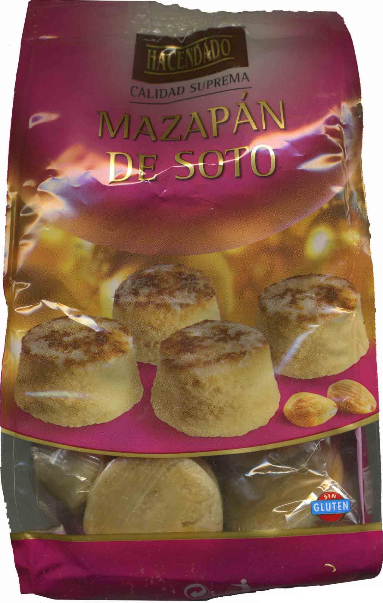 Mazapán de Soto - Produit
