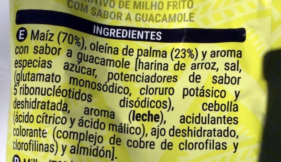 Nachos padrísimos - Ingredientes - es