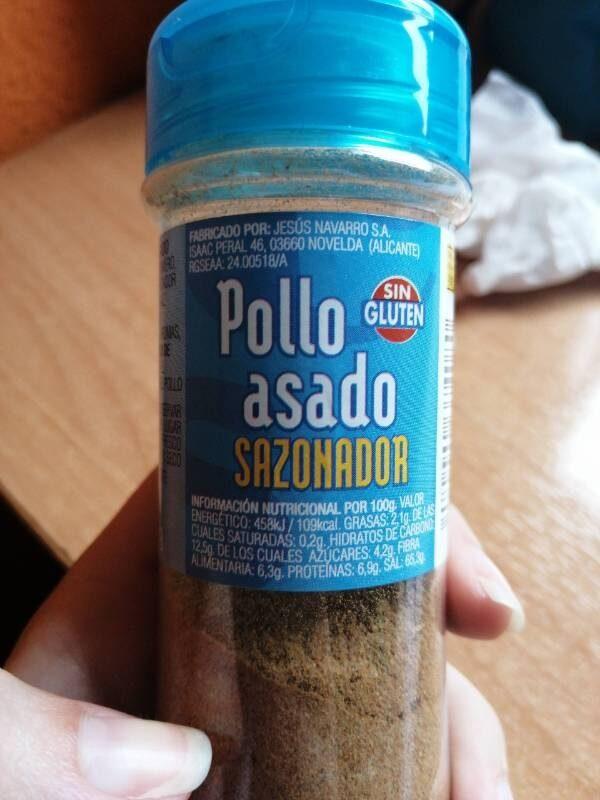 Sazonador pollo asado - Informations nutritionnelles - es