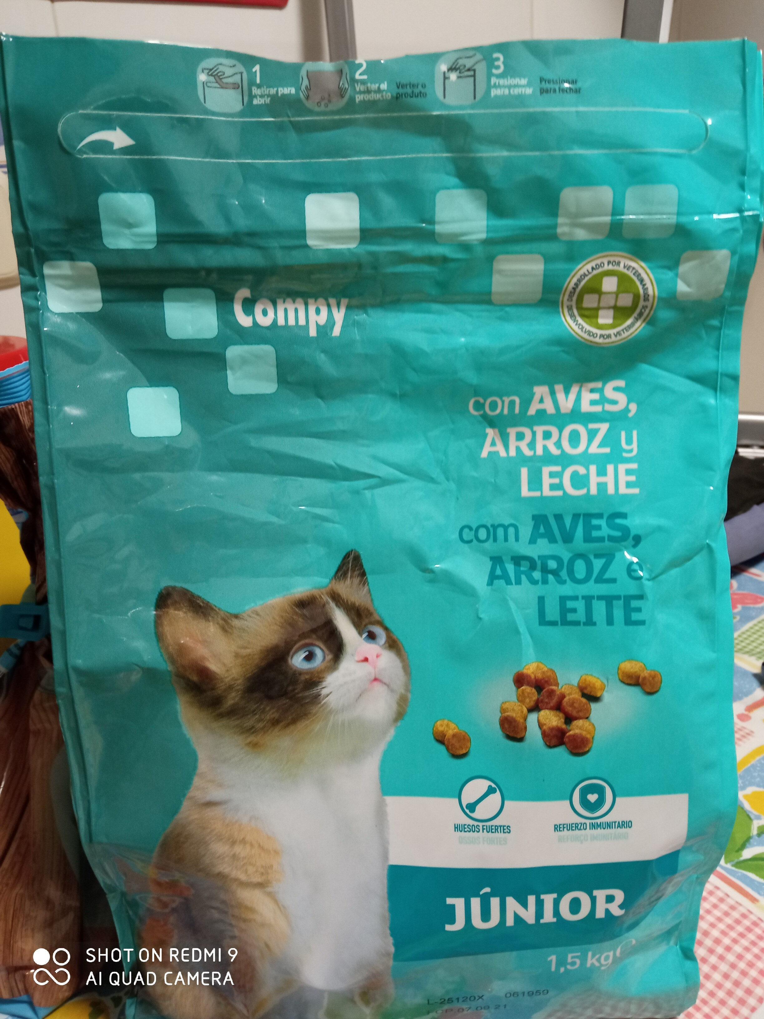 compy junior pienso gatos - Produit - es