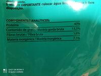 compy junior pienso gatos - Informations nutritionnelles - es