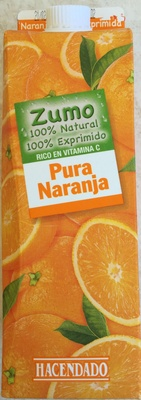 Zumo 100% Natural 100% Exprimido - Producto