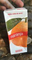 Zumo naranja - Producto - es