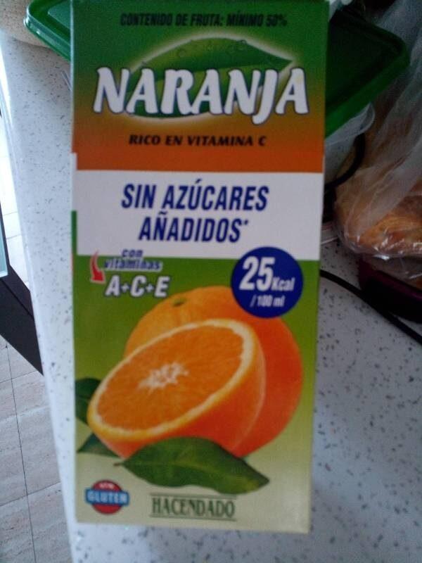 Zumo de naranja sin azucares - Producto - es