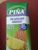 Zumo de Piña - Producto