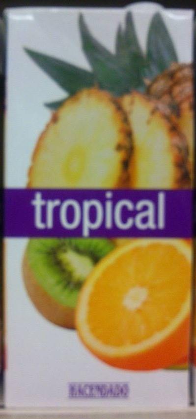 Zumo tropical - Producte