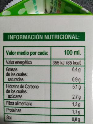 Salmorejo - Nutrition facts