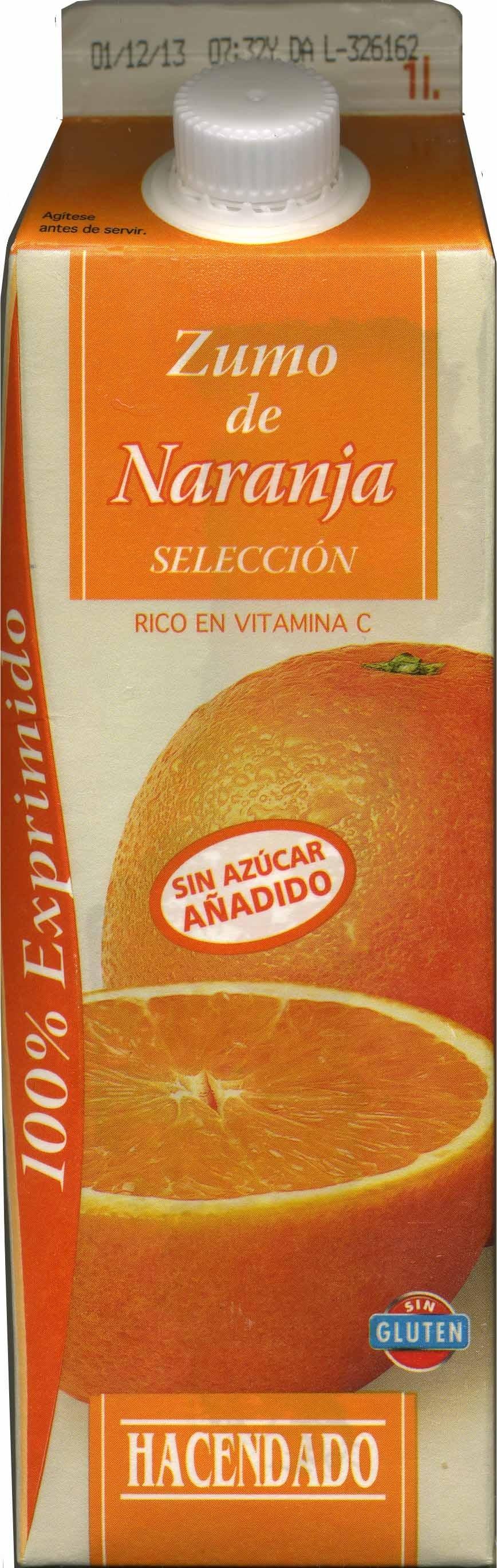 Zumo de naranja 100% exprimido - Producte