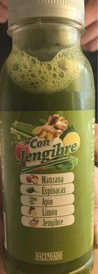 Fruityline con jengibre - Producte