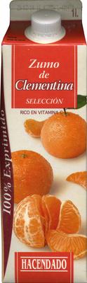 Zumo de clementina - Producto