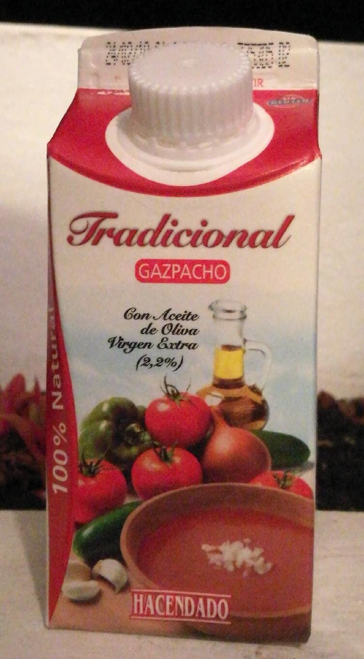 Traditional gazpacho - Producto