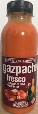Gazpacho fresco con aceite de oliva virgen extra - Producto