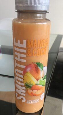 Smoothie mango & coco - Produit - es