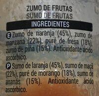 Fresh - Ingredientes