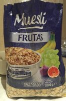 Muesli frutas - Producto