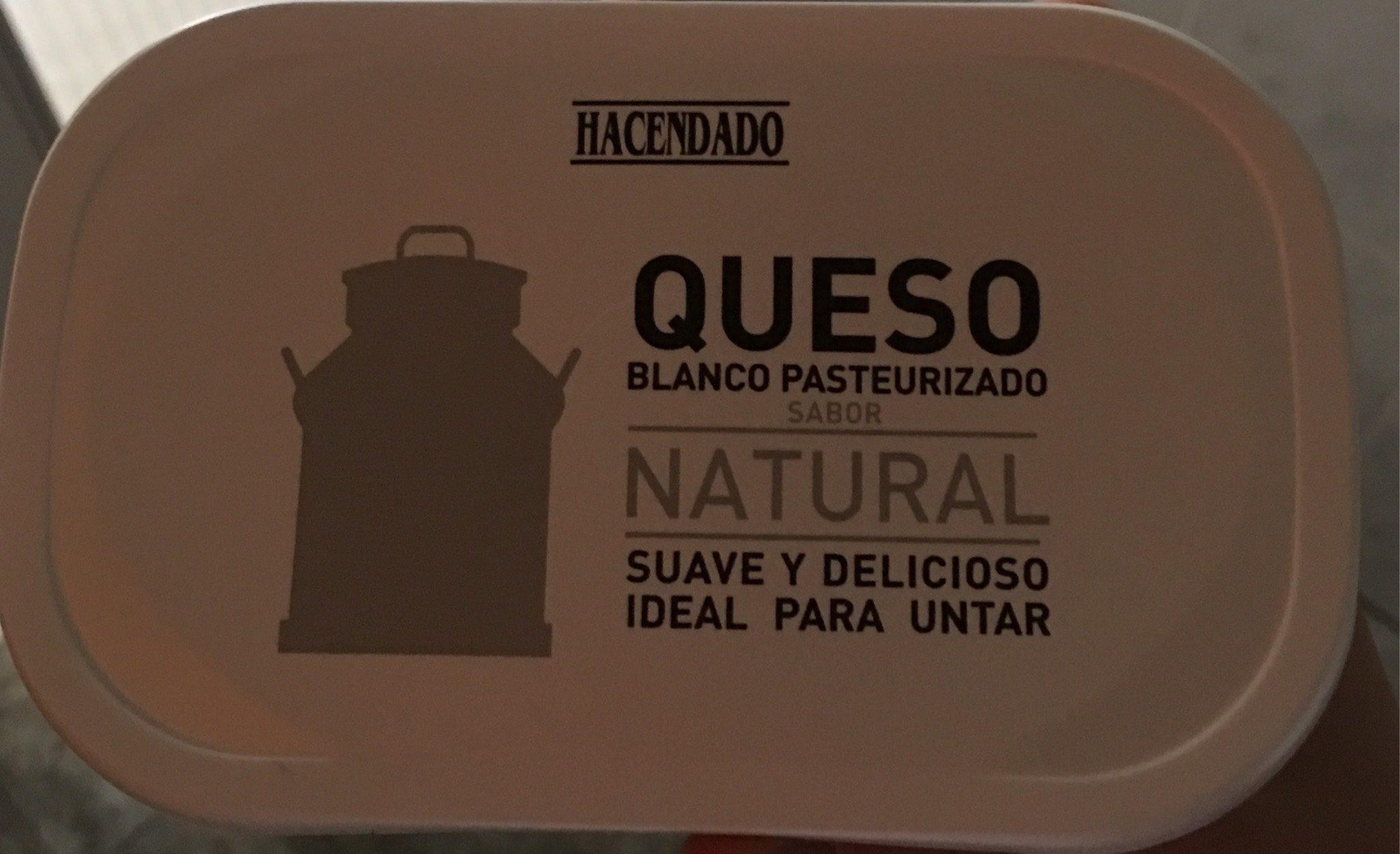 Queso Blanco Pasteurizado sabor Natural - Producto