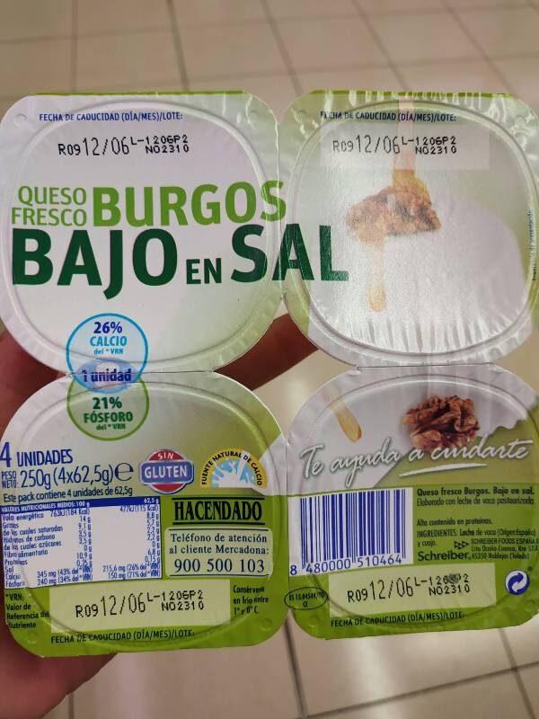 Queso fresco de Burgos - Producto - es