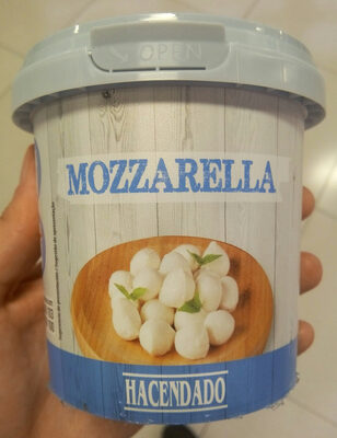 Perlas de Mozzarella
