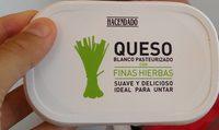 Queso finas hierbas - Producte