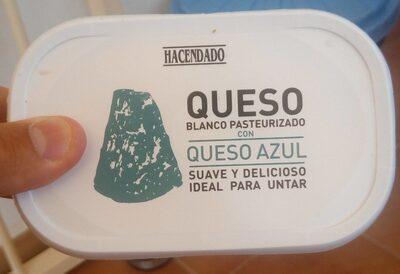 Queso blanco pasteurizado con queso azul - Producte