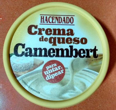 Crema de queso camembert - Producto