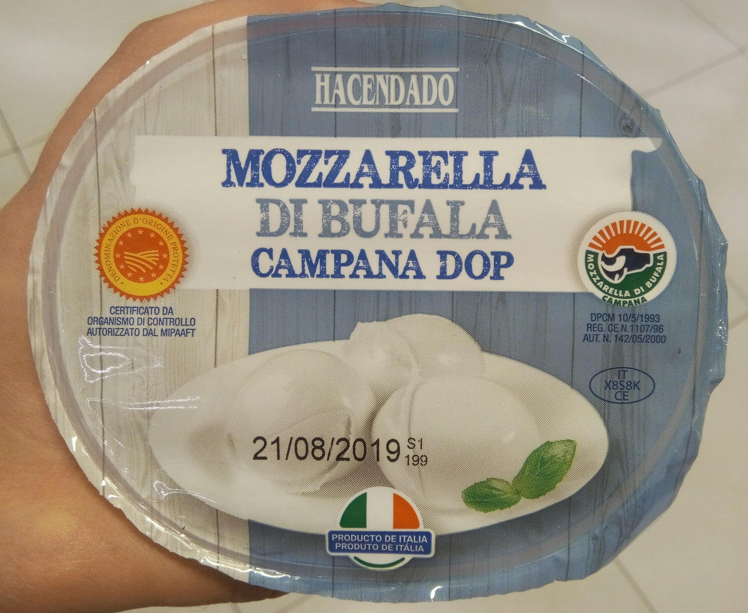 Mozzarella di bufala campana - Product - es