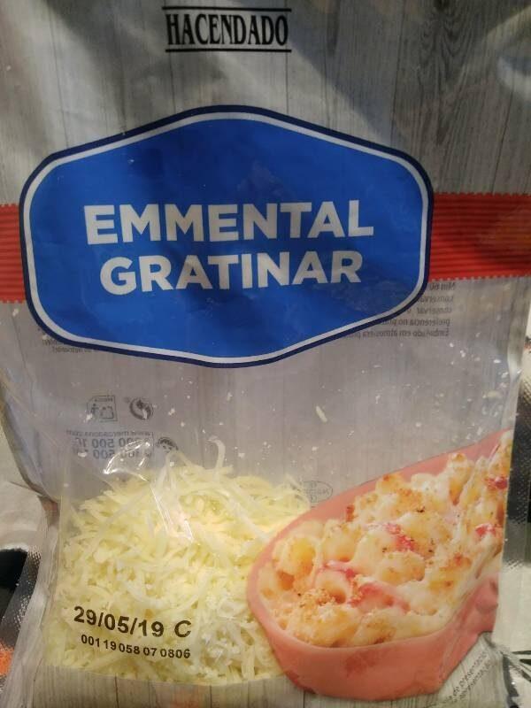 Emmental gratinar - Product - es