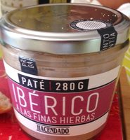 Paté iberico - Producte
