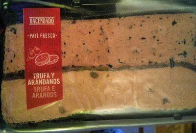 Paté fresco Trufa y Arándanos