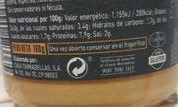 Paté de salmón - Nutrition facts - es