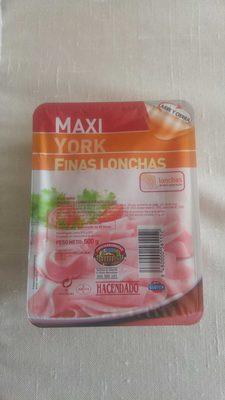 Maxi york finas lonchas - Product - es