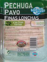 Pechuga de pavo - Product