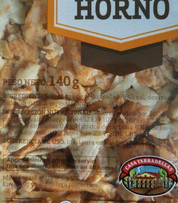 Tiras de pechuga de pollo - Ingrédients - fr