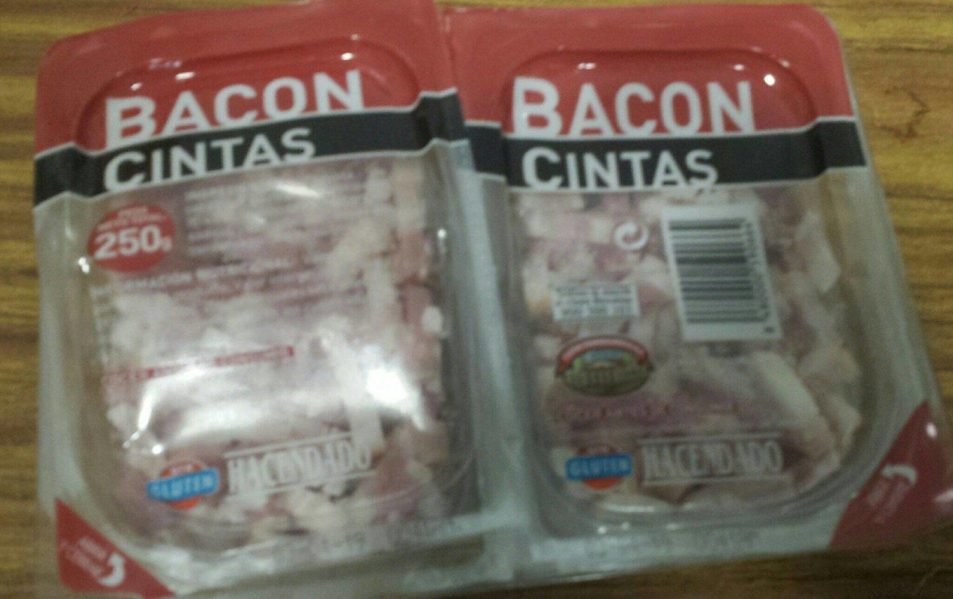 Bacon cintas - Produit - fr
