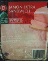Jamón extra sándwich - Producto